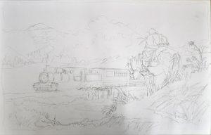 Ilustración en lápiz